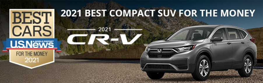 2021 CR-V - 2021 Best Compact SUV For The Money